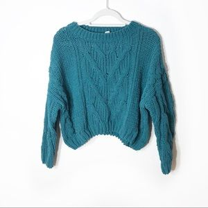 Moth Knitted Over-sized Sweater